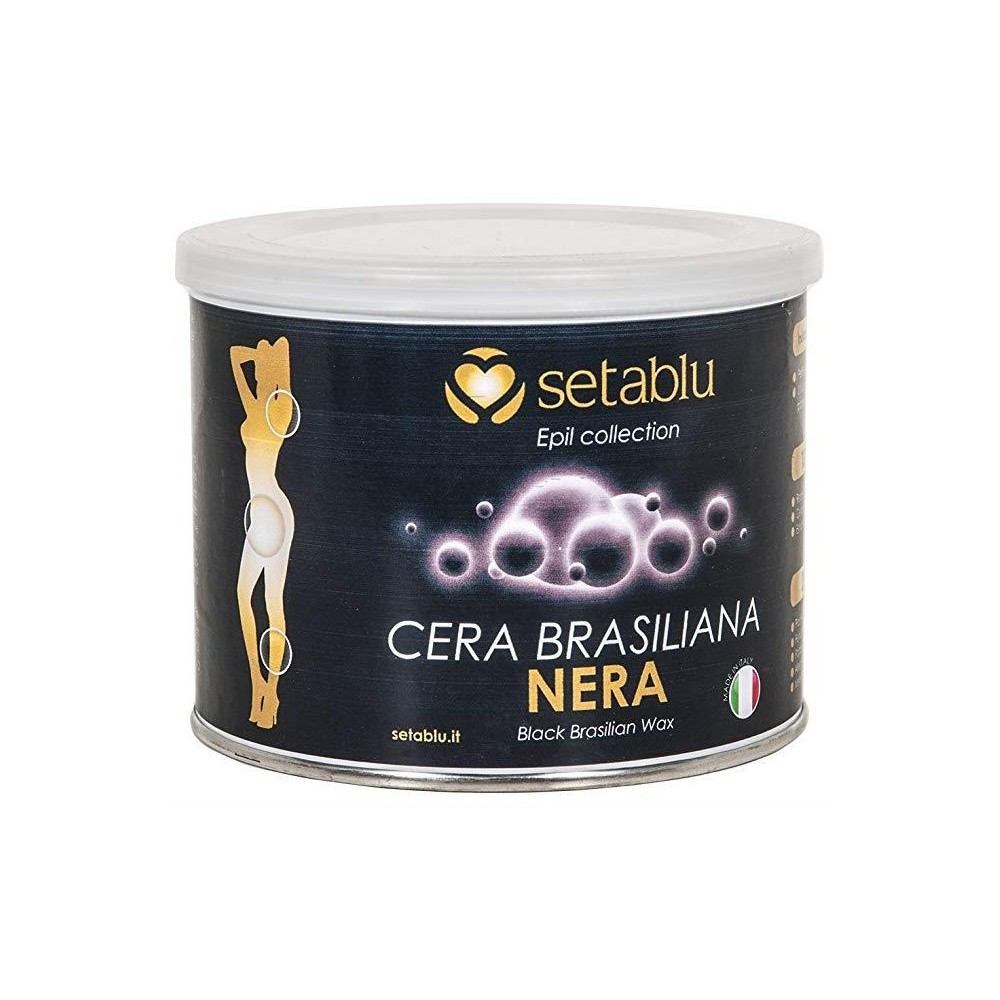 Cera depilatoria brasiliana nera SETABLU estratto di Maracuja pelli sensibili