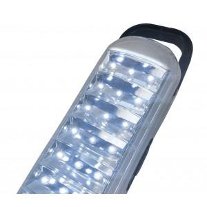 Lampada LED 715 ricaricabile con cordicella gancio e 2 modalità di luce 5W