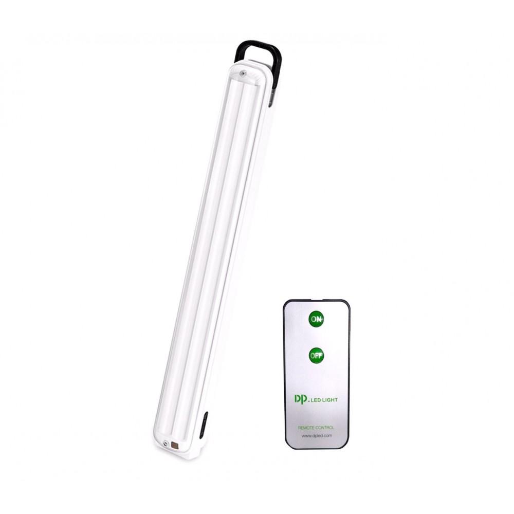 Lampada LED 717b ricaricabile con telecomando gancio e 2 modalità di luce 12W