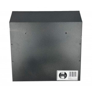 Cassetta pubblicità ARTIGIAN FERRO Art. 711 ferro verniciato grigio 32x13x32 cm