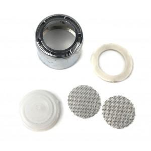 2 Filtri acqua per miscelatori e rubinetti attacco avvitabile e universale 18mm