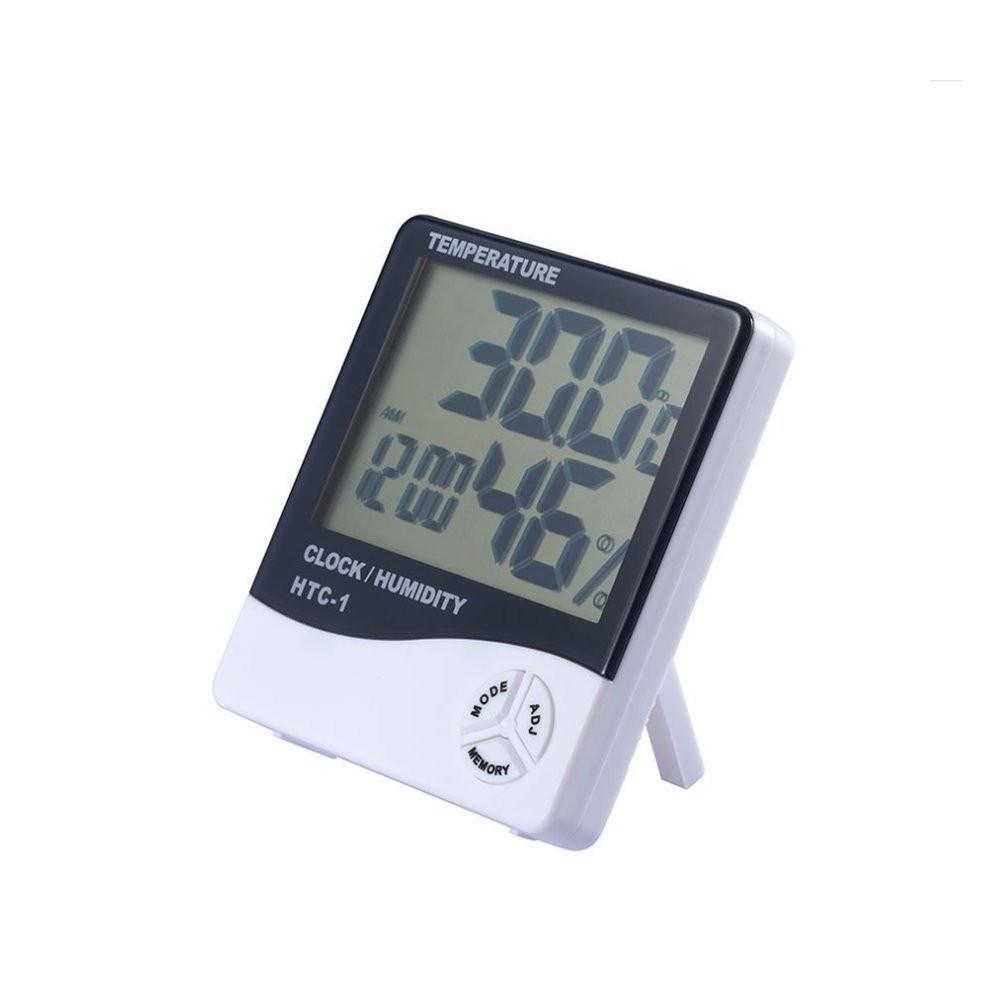 Termometro igrometro 850871 con orologio allarme umidità e memoria min e max