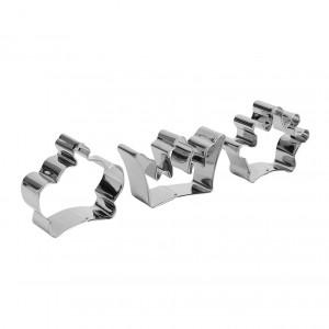 Set di 3 coppapasta a corona GRAN CHEF in acciaio 220540 altezza 2 cm
