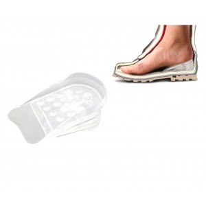 Alzatacco gel 10 pz per scarpe in silicone 5 cm in più
