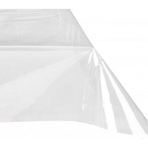 Tovaglia cerata rettangolare PVC 150x275 cm 302996 trasparente e impermeabile