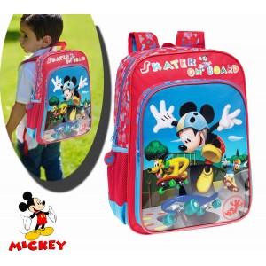 Image of 4012351 Zaino a spalla scuola Mickey Mouse Skater Disney 30 x 40 x 16 cm 8010000300361