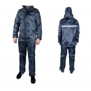Completo Antipioggia EF016 XONE con giacca e pantalone di Nylon antistrappo