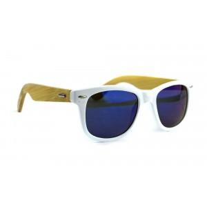Occhiali da sole MWS AHEAD Bamboo legno unisex Sunglasses lente scura o colorata