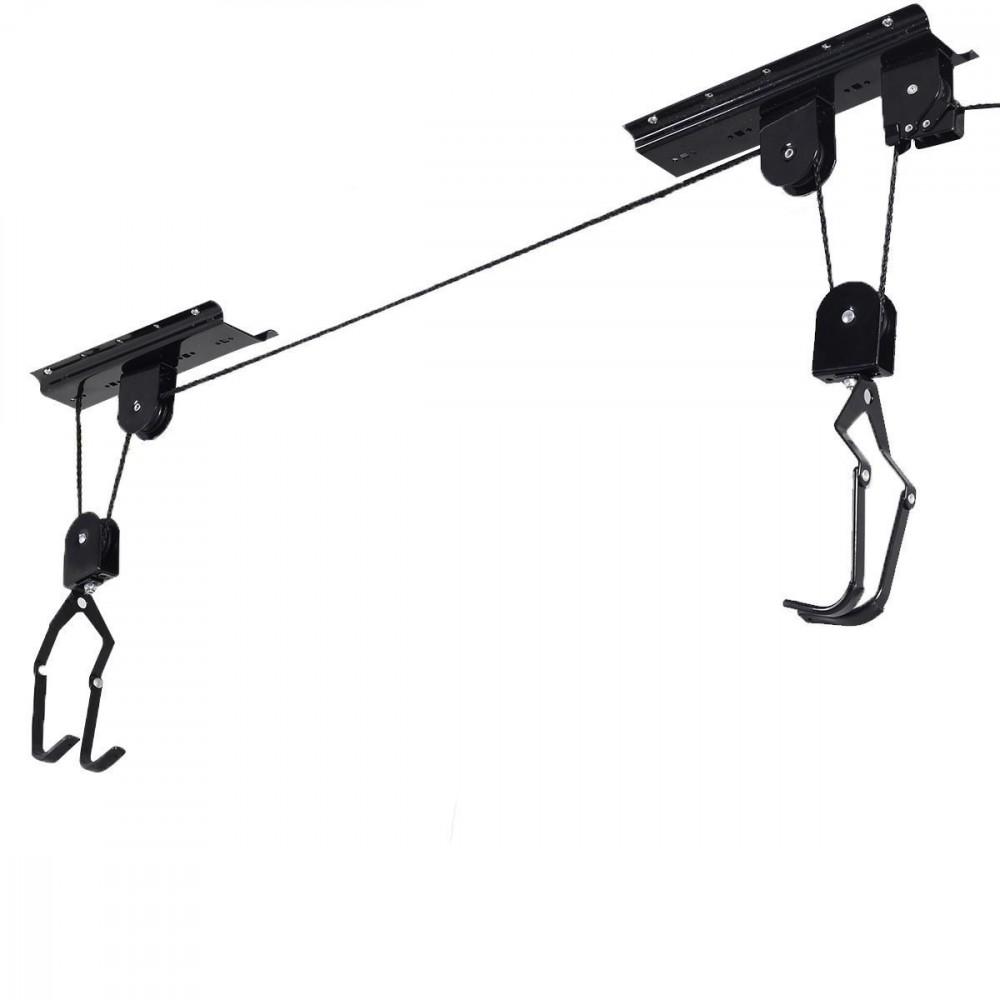 Dunlop 095639 Supporto portabici a carrucole da soffitto universale 20kg max