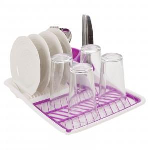 ScolaPiatti in Plastica alta capacità con portaposate