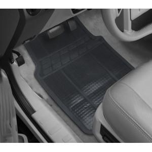 726533 Set 4 tappetini auto in gomma antiscivolo universali tappeti anti slip