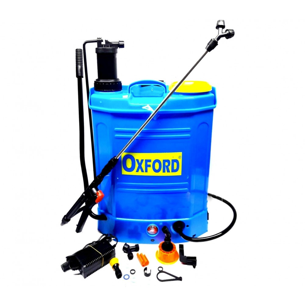 475625 Nebulizzatore OXFORD batteria manuale diserbante 18 lt multiuso 12 AH