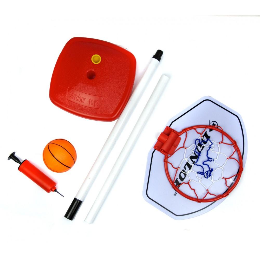 Playset basket 101125 per bambini DUNLOP canestro con base pallone h 117 cm