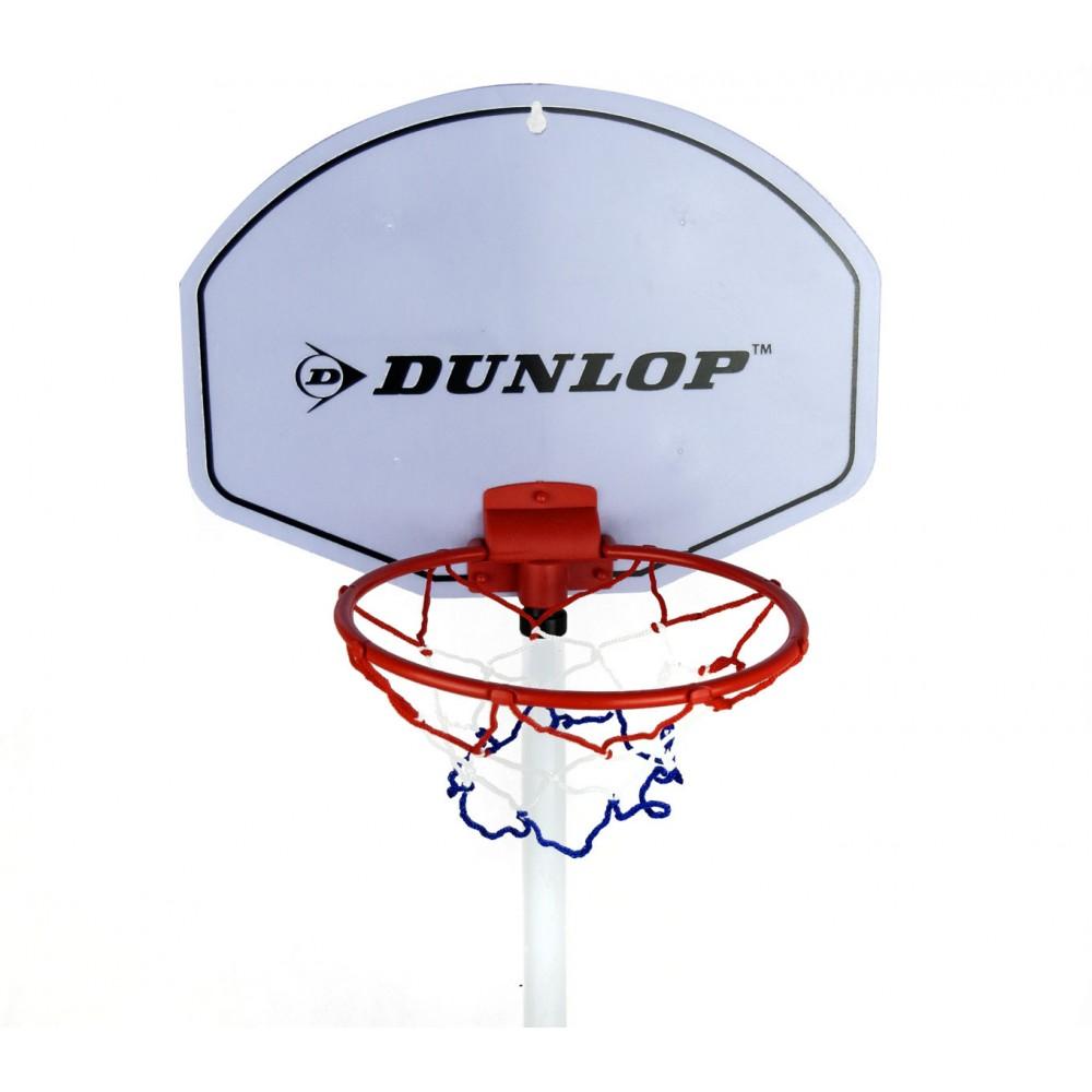 777cf0c90312 101125 Playset basket per bambini DUNLOP canestro con base pallone e pompa