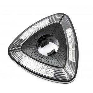 Essenciel 590014 Lampada da Ombrellone 30 a 48mm 15 LED alta luminosità