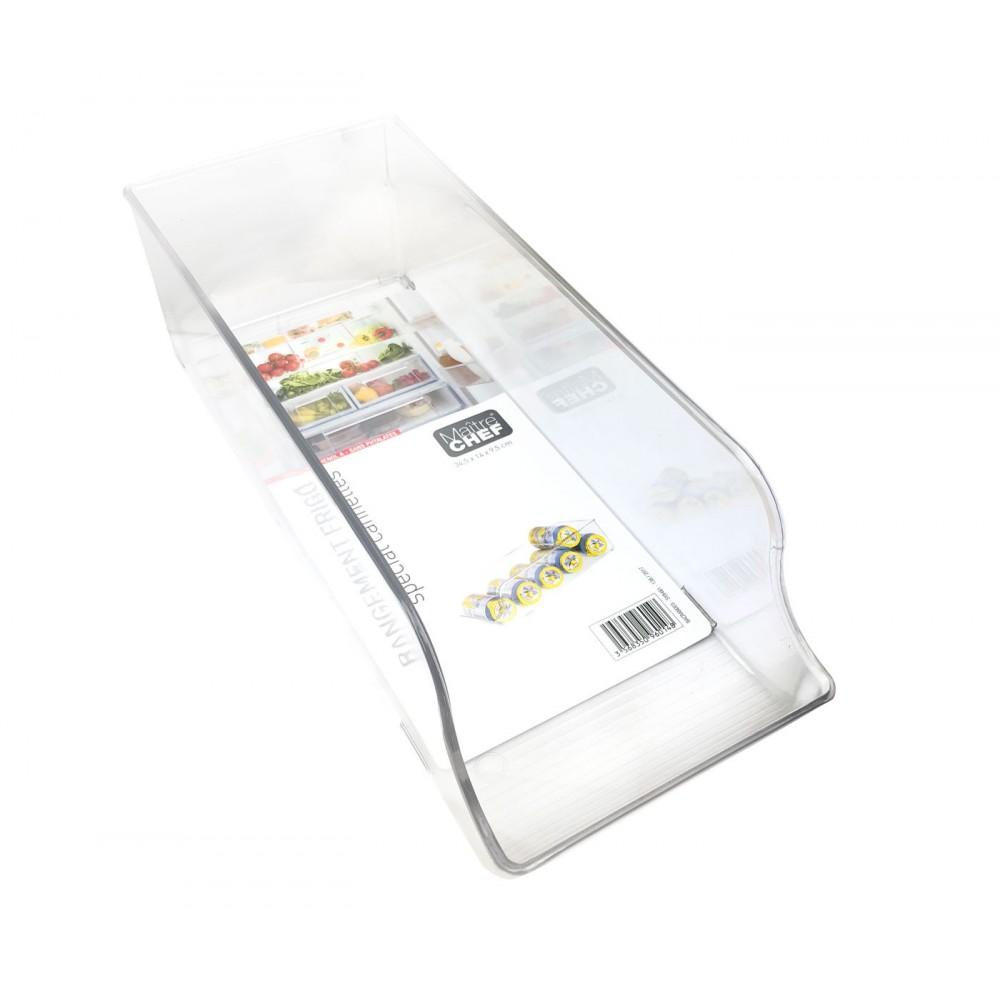 MAITRE CHEF 960148 Cassetto da frigo 35x14x10cm PE Rigida atossica trasparente