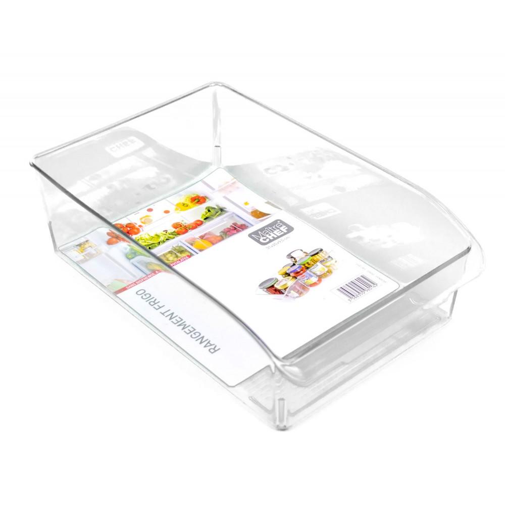 MAITRE CHEF 960162 Cassetto da frigo 31x20x10cm PE Rigida atossica trasparente