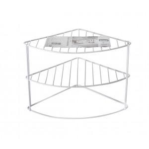 Mensola ad angolo per cucina 980504 da tavolo in metallo verniciato 3 livelli