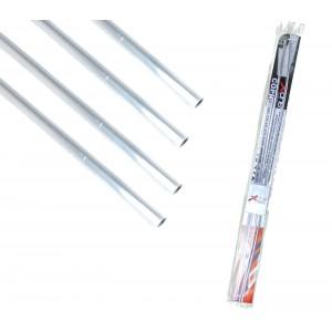 Xone set di 4 profili SalvaPorta 881868 cromati in PVC 2x87cm 2x67cm Ant e post