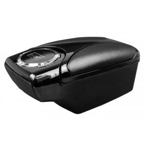 XONE 881561 Bracciolo da auto aggancio universale con portabibite e 2 cassetti