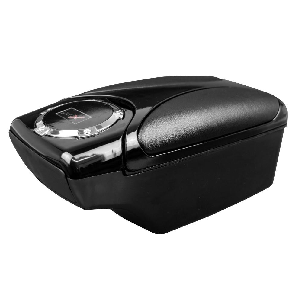 XONE ALFA AI065 Bracciolo auto aggancio universale con portabibite e 2 cassetti