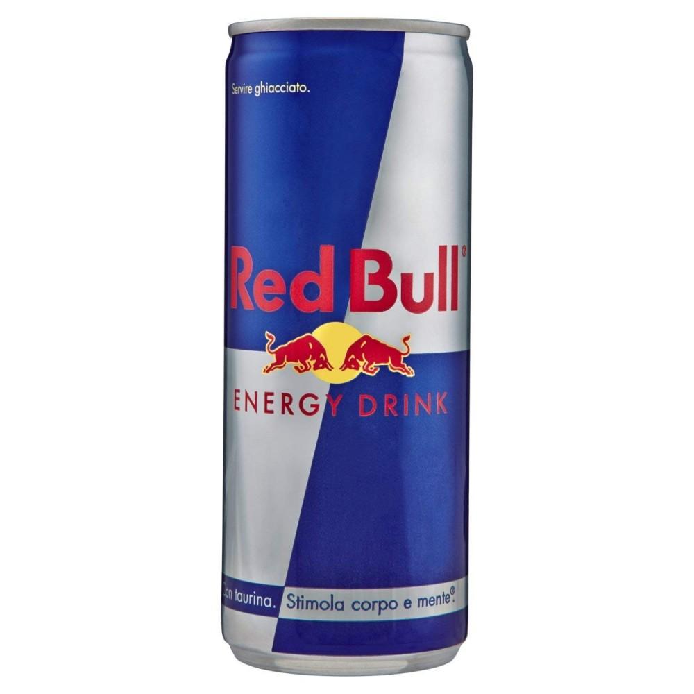 RED BULL ENERGY DRINK confezione risparmio 24 lattine da 250mL stimola la mente