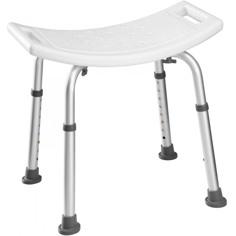 Sedia regolabile doccia 39-56 cm 257426 telaio alluminio ideale per anziani