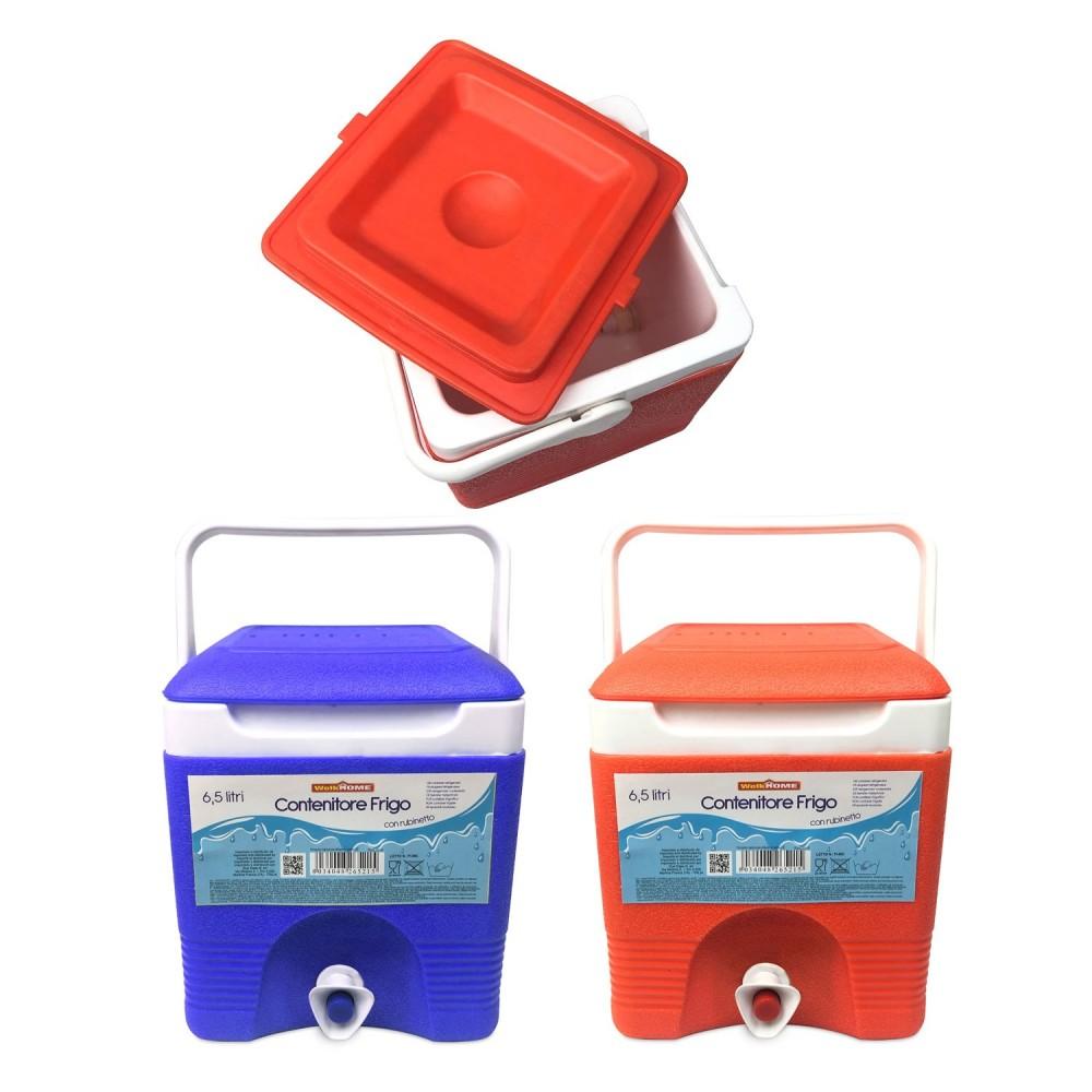 CHILLEX 265215 Frigo portatile 6.5 lt plastica rigida con rubinetto 21x22x26cm
