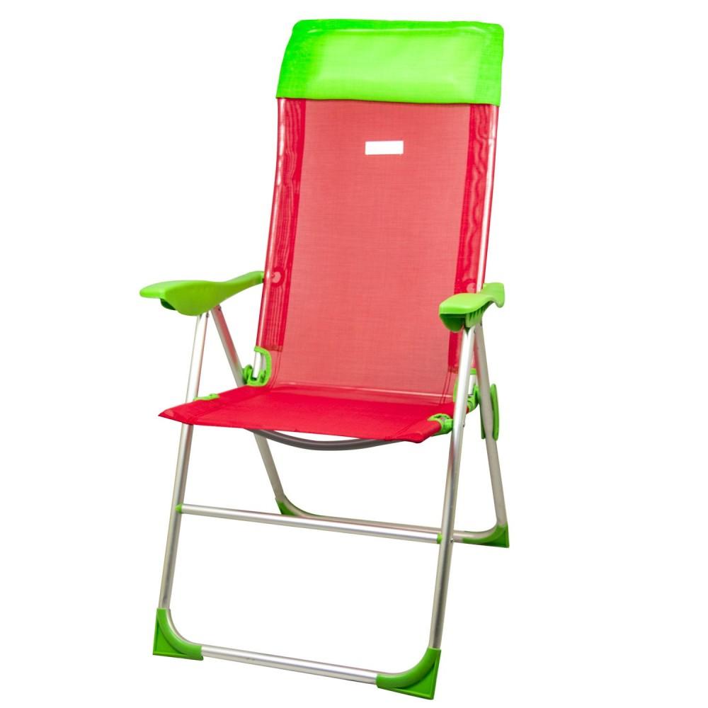Sedie Sdraio Pieghevoli Alluminio.Sedie Da Esterno Sedia A Sdraio Pieghevole Canapone Rosso In