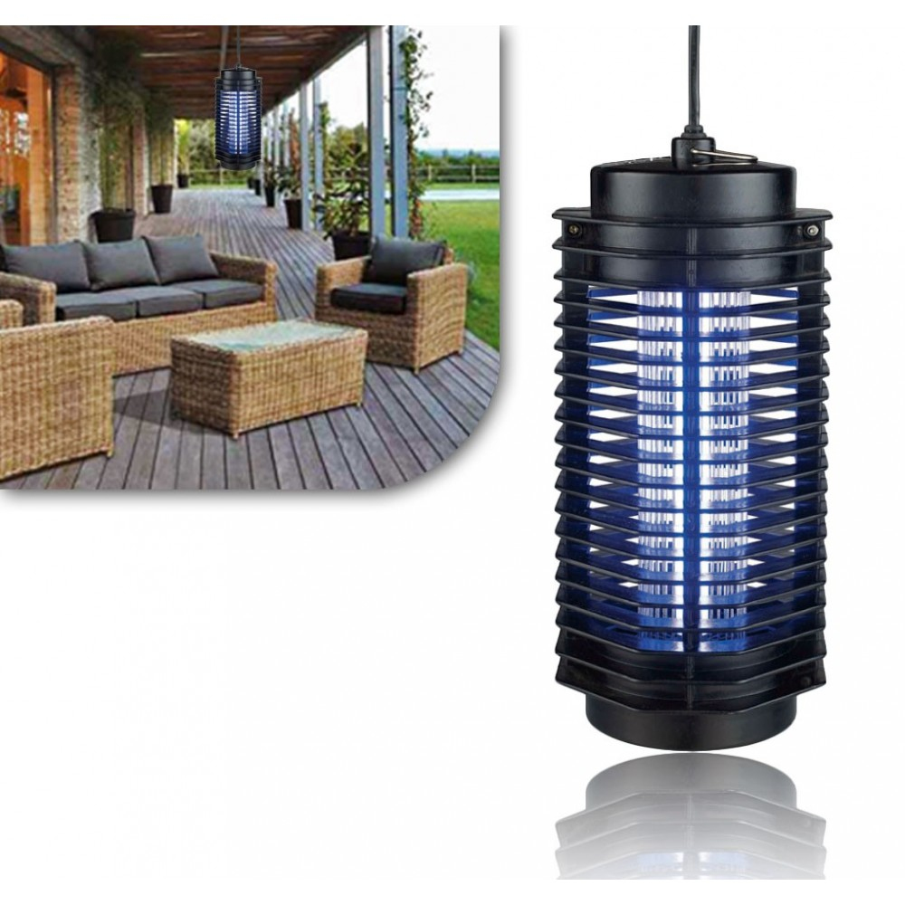 Lampada fulmina insetti a basso consumo a raggi ultravioletti for Lampada antizanzare