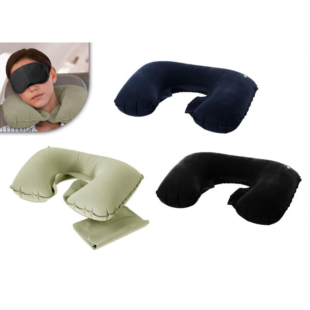 Cuscino relax gonfiabile ergonomico per viaggi pillow 749173