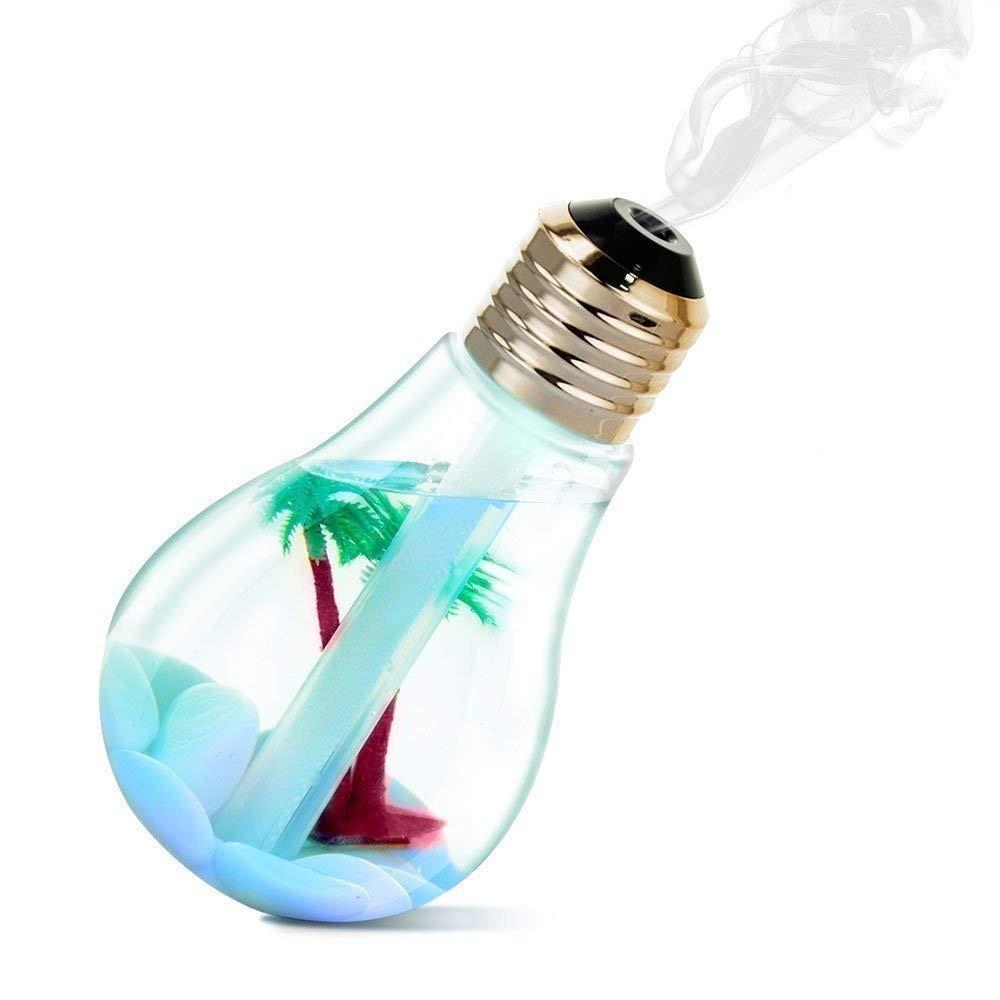 BULB 771726 diffusore di aromi cromoterapia a forma di lampadina USB 2W 400ml