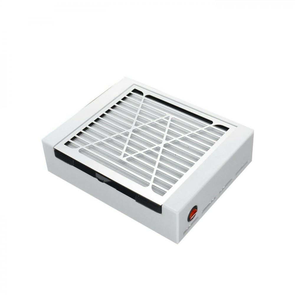 LIDAN Aspiratore 605203 per unghie con filtro rimovibile 228x183x85mm 12V 2A 40W