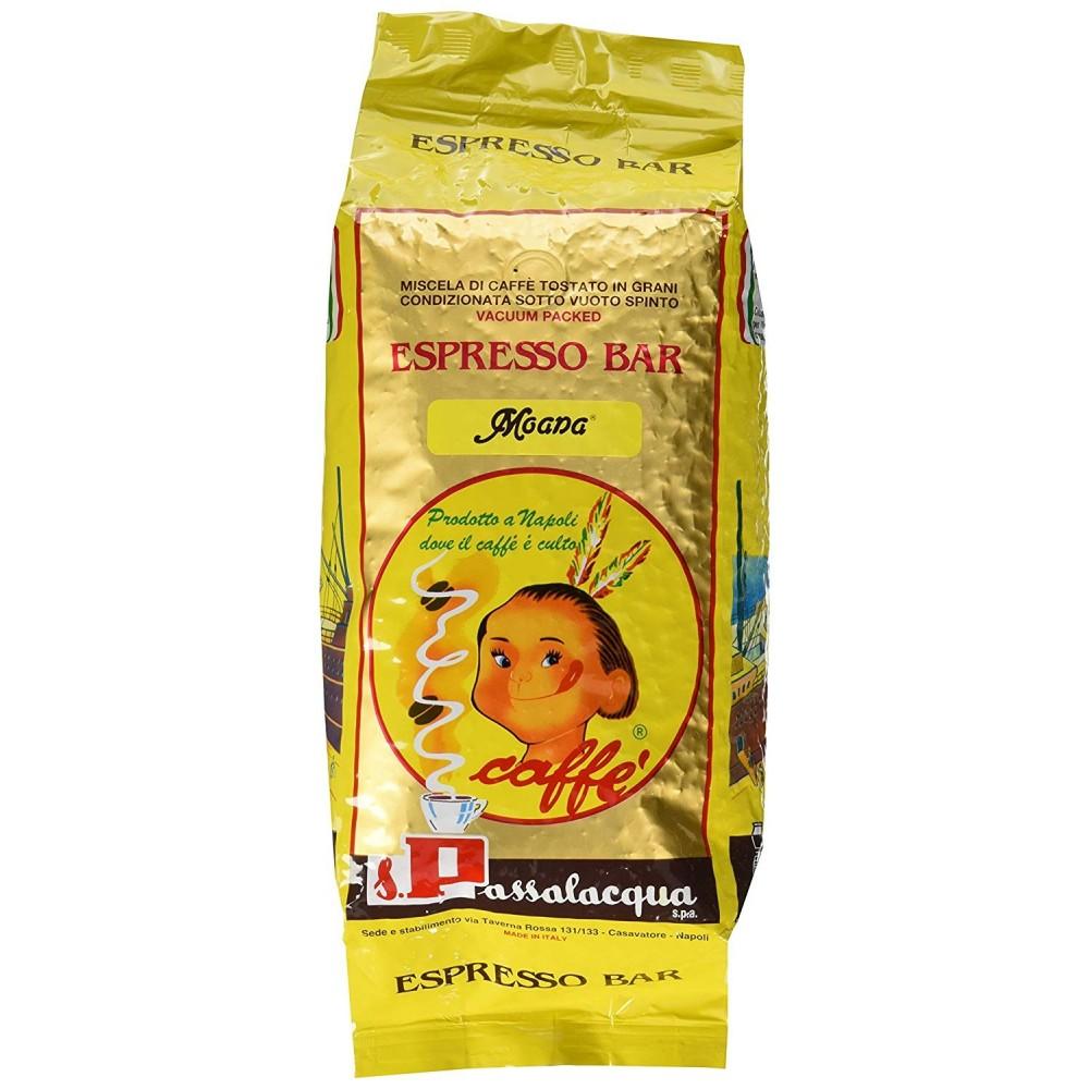 Passalacqua Moana in Grani 1 kg sottovuoto ESPRESSO BAR 100% arabica