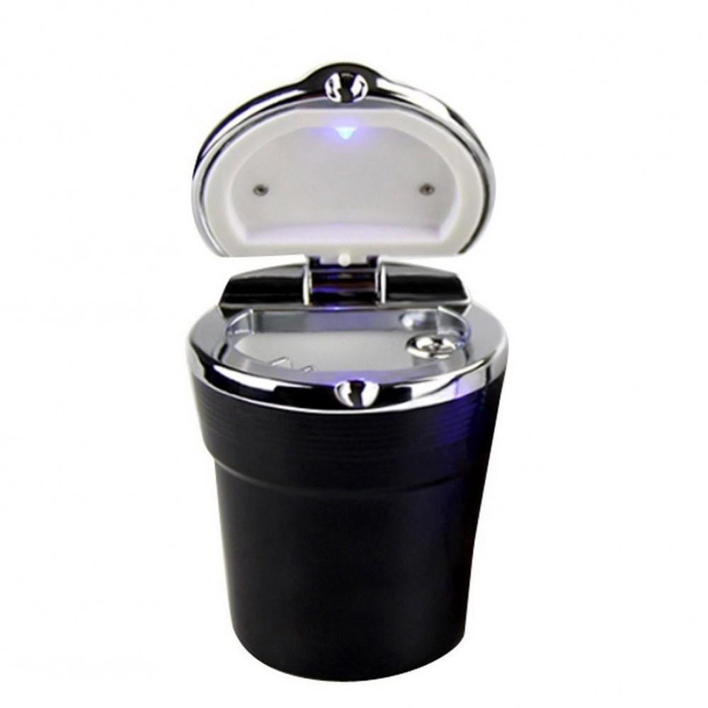Posacenere XONE da auto SIOUX AI079 bicchiere con luce notturna a LED in abs