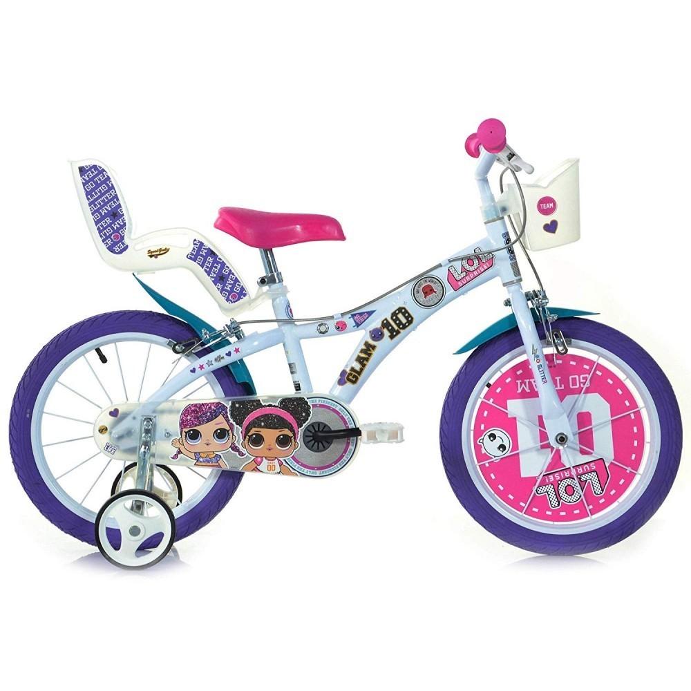 Bici 16 Lol Surprise Per Bambina Dino Bikes 616 G-LOL 4-7 anni