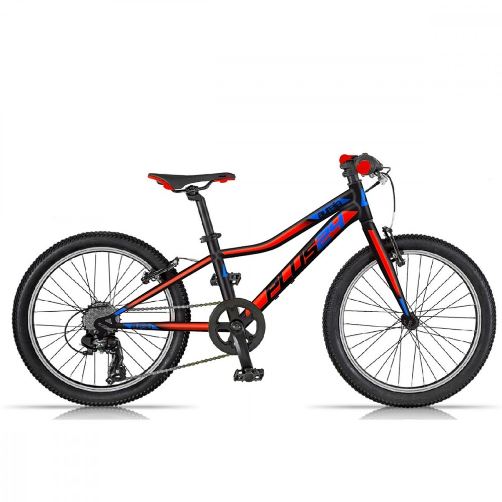 Bici 24 MTB Plus Dino Bikes Art. 424-UP 9-13 anni mountain bike con ruote fat 6V