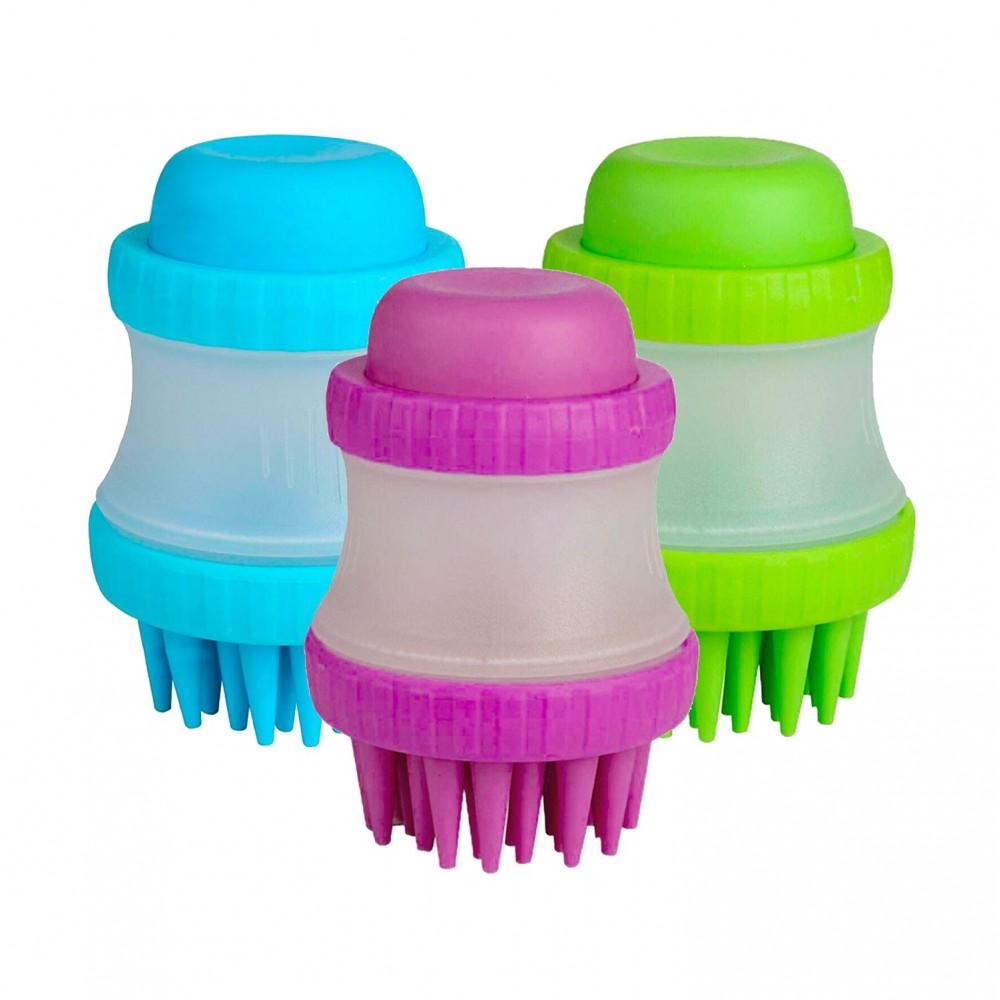 Gentle Dog Washer spazzola in silicone 221158 per cani dispenser porta sapone