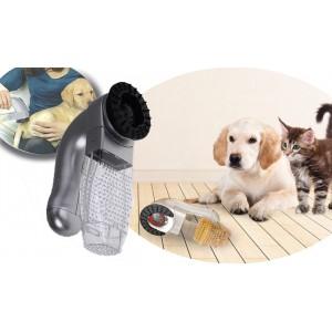 Tosatrice rimuove peli in eccesso mentre massaggia per cane e gatto indolore e facile da usare