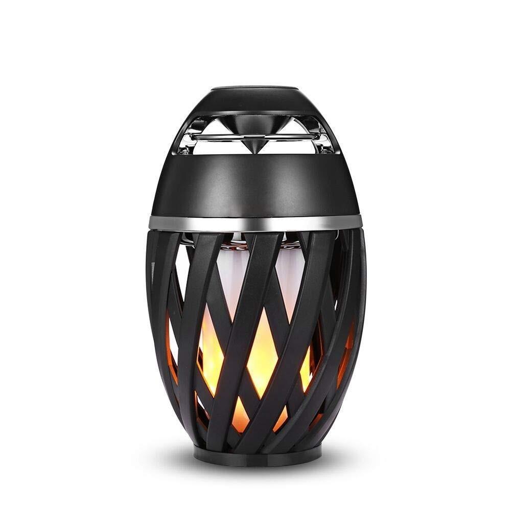 Lanterna effetto fiamma Cassa altoparlante Speaker Bluetooth 5W ricaricabile
