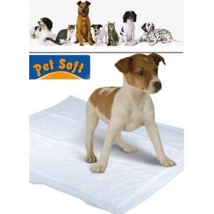 Pack 10 traverse per cani 90 x 60 cm  tappeto super assorbente cattura odori per bisogni animali