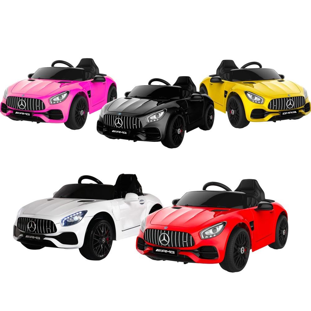 Auto bambini elettrica MERCEDES AMG GT con Telecomando B83976 12V MP3 luci led