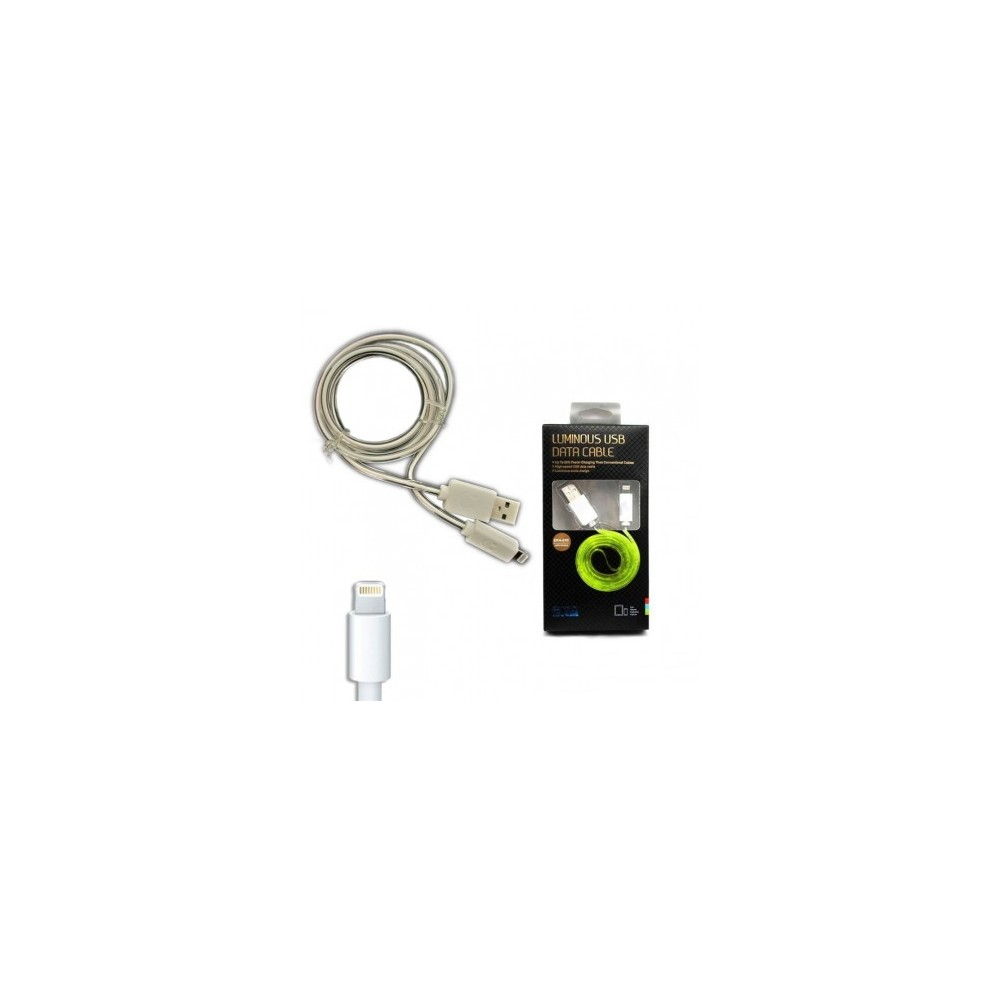 Cavo dati usb luminoso caricabatteria compatibile Iphone 5/5S/6