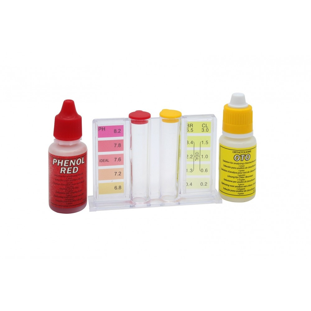 Misuratore pH Cloro 1907BL PROFESSIONAL DEP biodegradabile al 90% flaconi scala