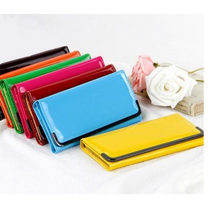 Image of Portafoglio verniciato pochette mod. Ocean borsa borsetta handbag clutch bag 8435524505656