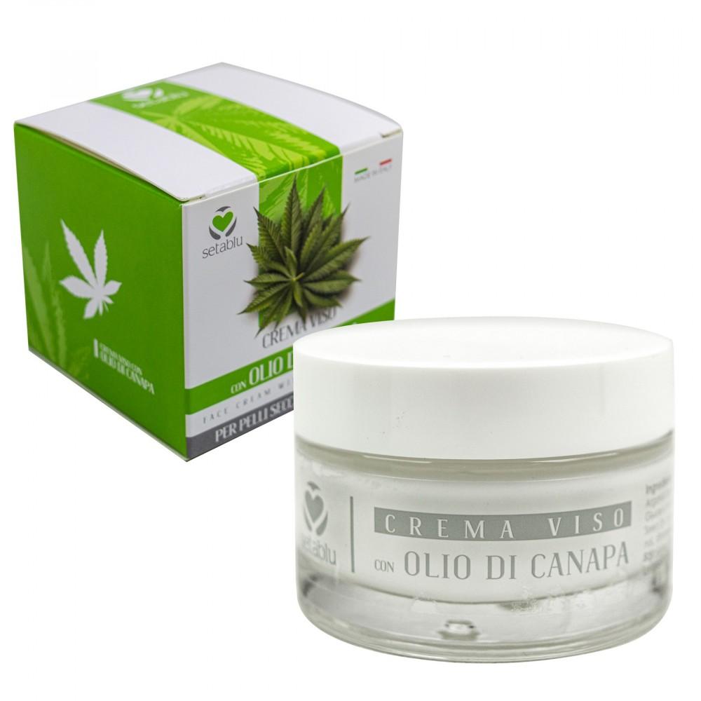 SETABLU Crema Viso Olio di Canapa 577915 per pelli secche disidratate 50 ml