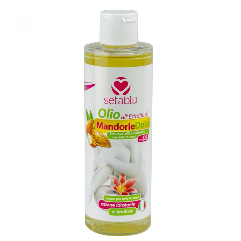 SETABLU Olio all'estratto di Mandorle Dolci 577113 per rimozione cera 200 ml