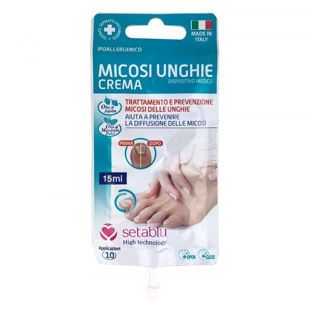 SETABLU Crema anti micosi unghie 572439 tubetto 3 applicazioni 15 mL