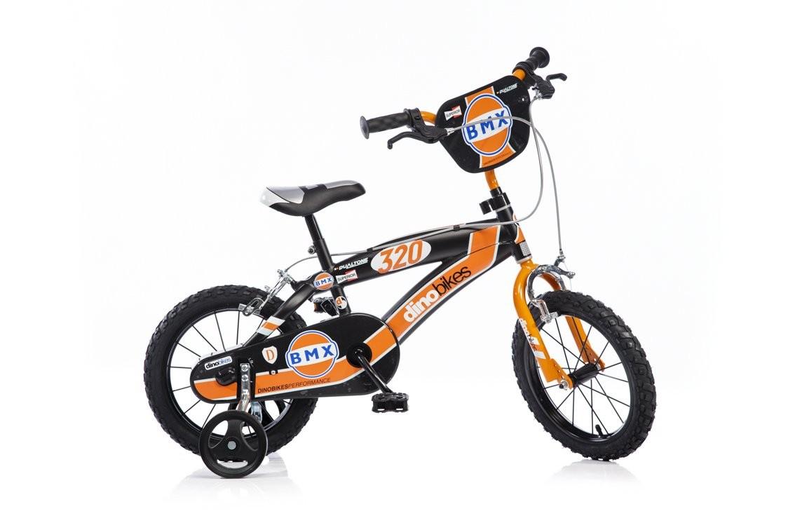 DINOBIKES Bici misura 14 BMX da Bambino  145XC 4-7 anni forcella in acciaio  negozio online outlet
