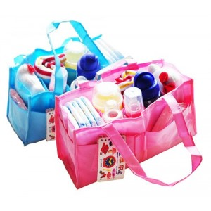 Image of Organizzatore per borsa neonato mummy bag da viaggio campeggio 14 scomparti 8435524505670